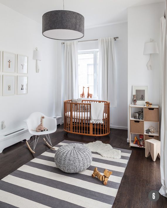 Inspiration For A Neutral Nursery