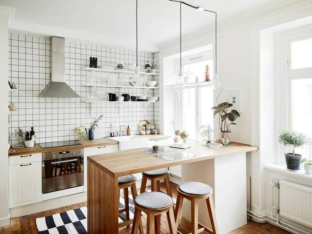 5. Eat-in kitchen