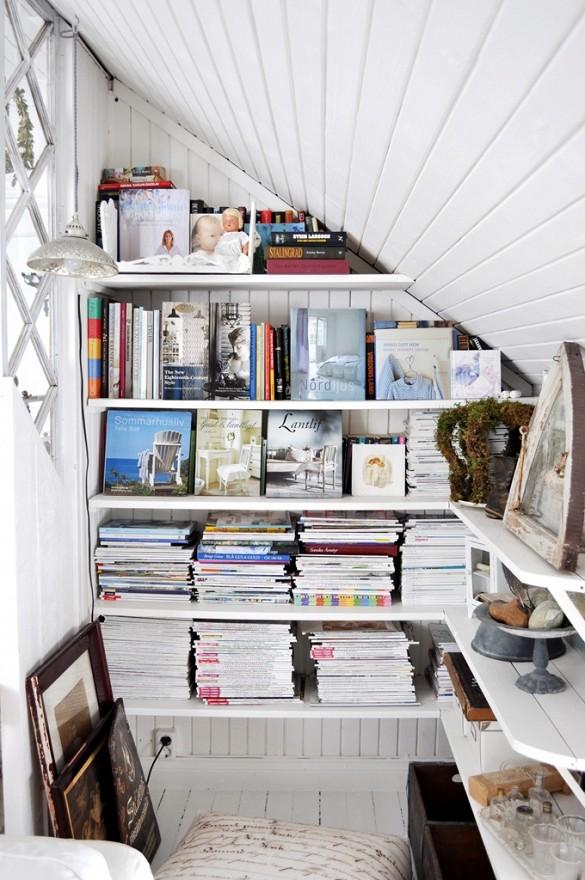 4. Eye-catching Magazine storage