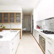 Modern kitchen with island bench and lots of storage