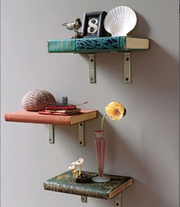 Books As Shelves