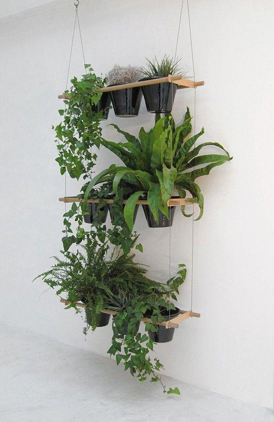 7. Hanging garden