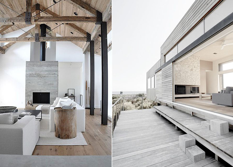 14 dream beach houses you will love renovate real estate for Modern beach style homes