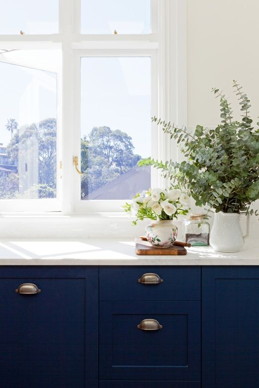 Love Or Hate Navy Blue Kitchens
