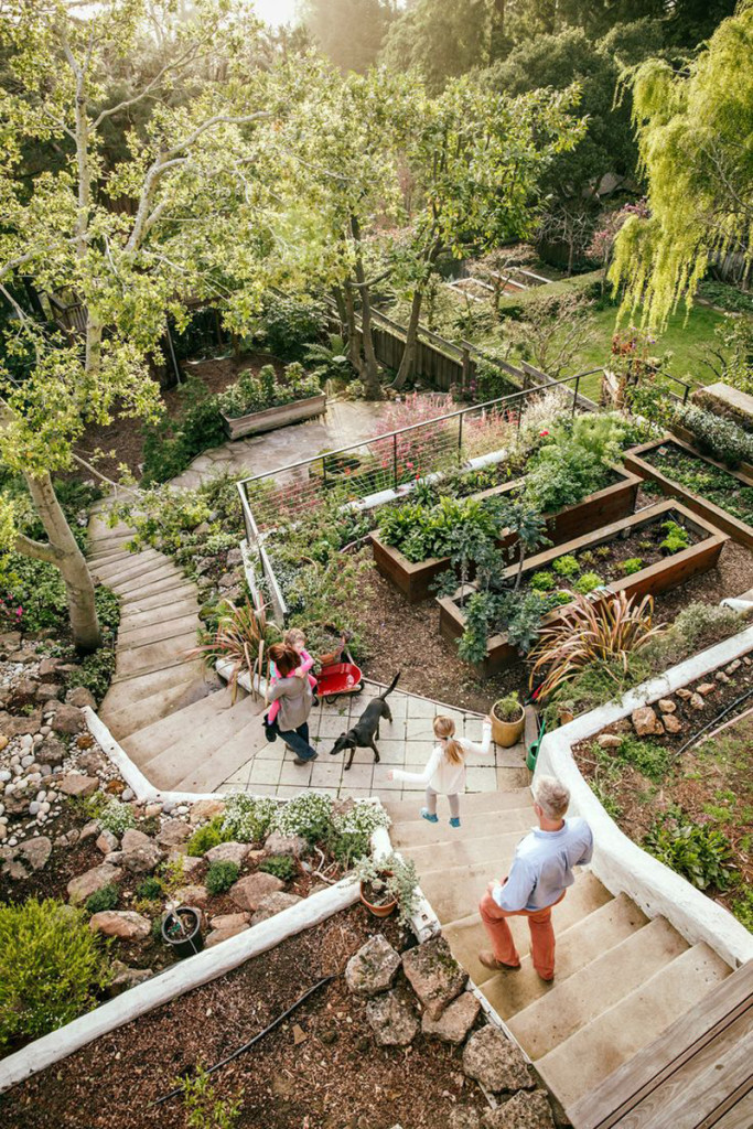 Clever Ideas For A Sloping Backyard Renovate And Realestate