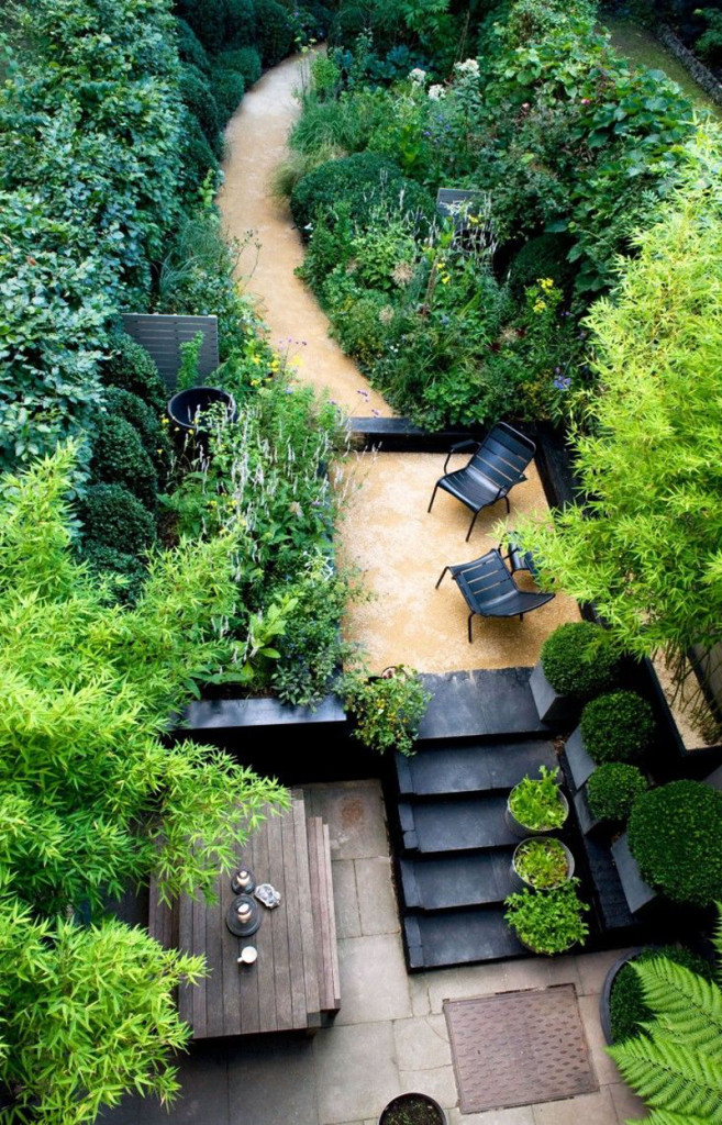 Garden Landscaping Ideas Sloping Garden : Clever ideas for a sloping backyard renovate real estate