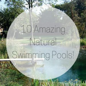 10 AmazingNatural Swimming Pools!