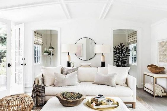 Neutral Living Rooms That Will Make You Rethink Colour
