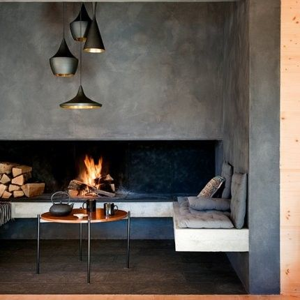Pins of the Week: Cosy Fireplaces